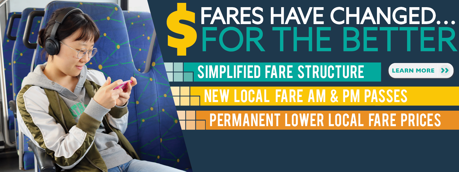 Fares Have changed for the better