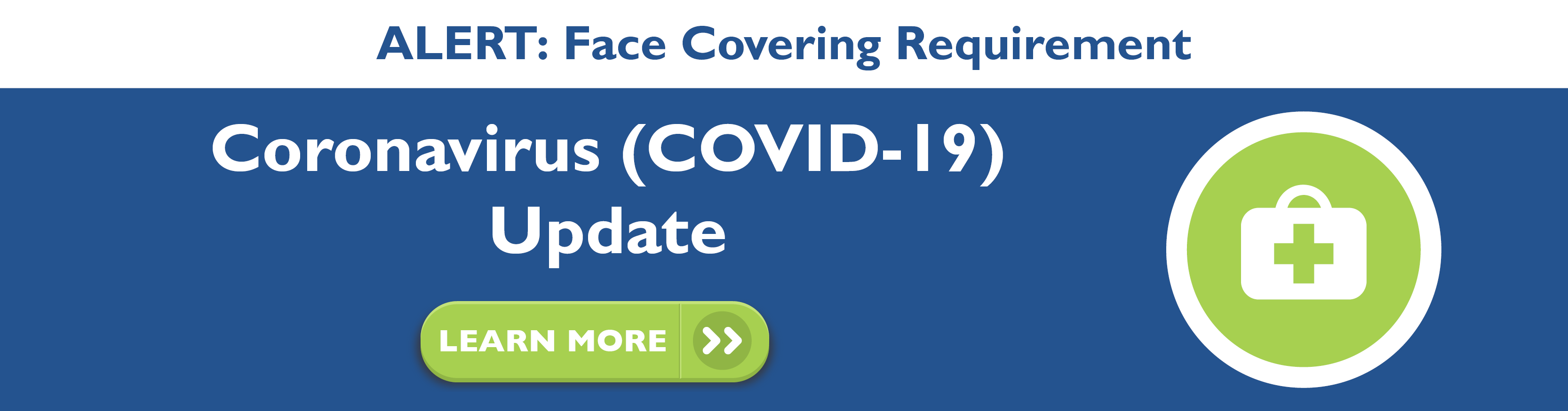 DCTA face covering now required on vehicles