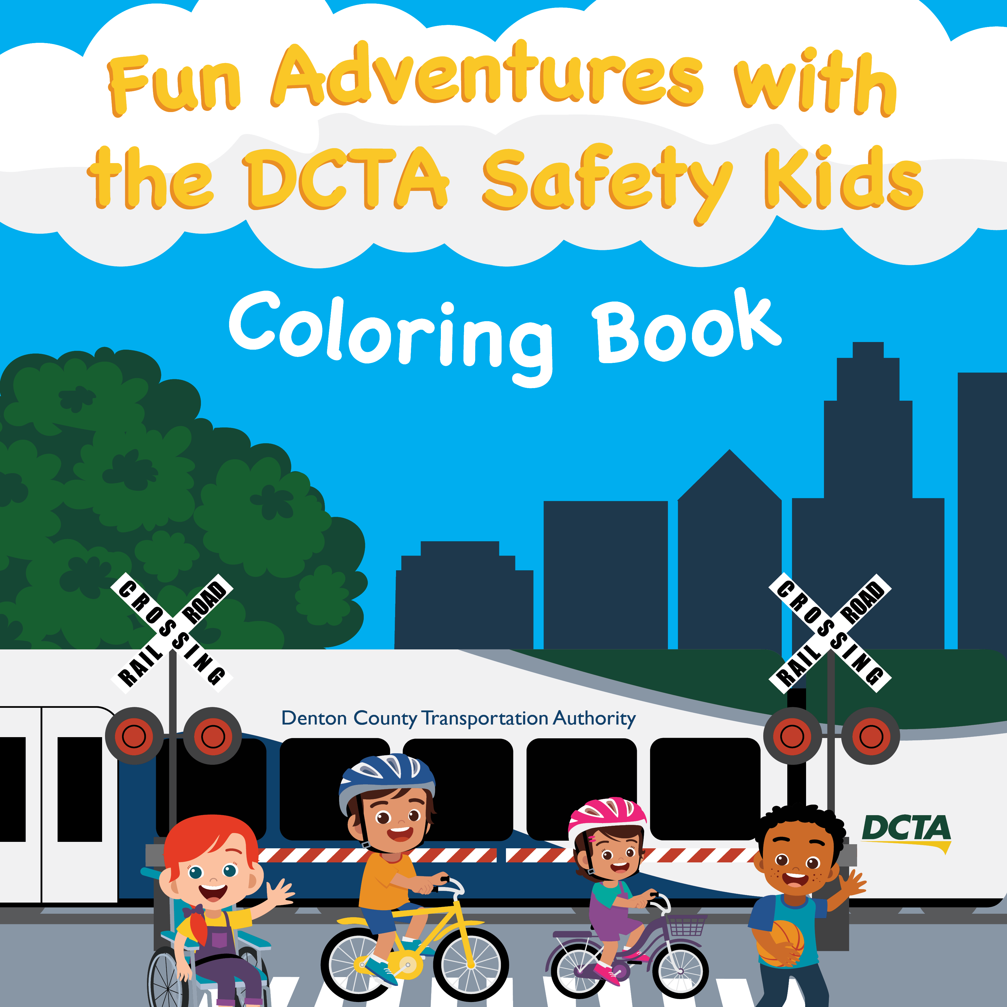 DCTA Safety Kids Coloring Book Thumbnail