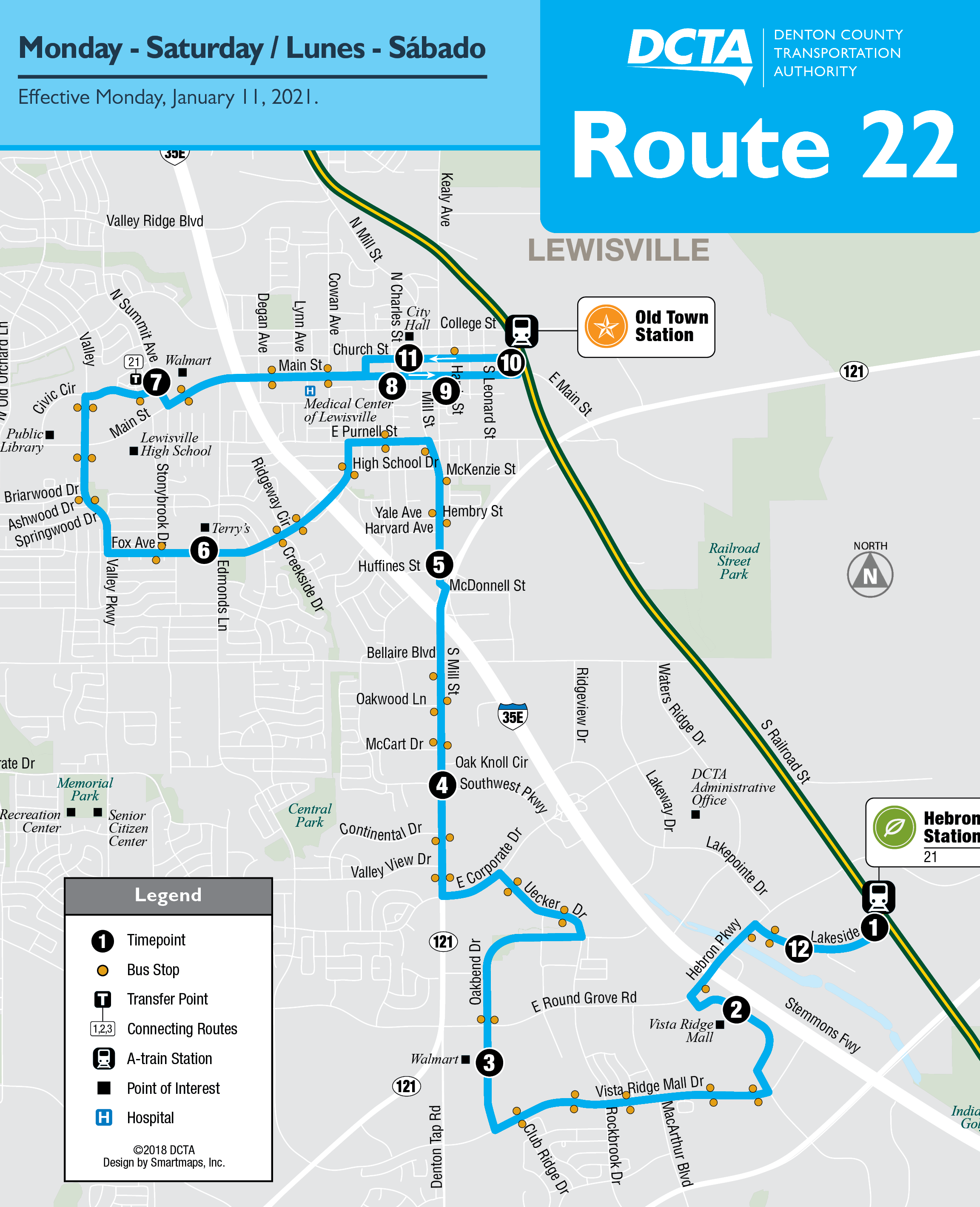 Route 22 Map