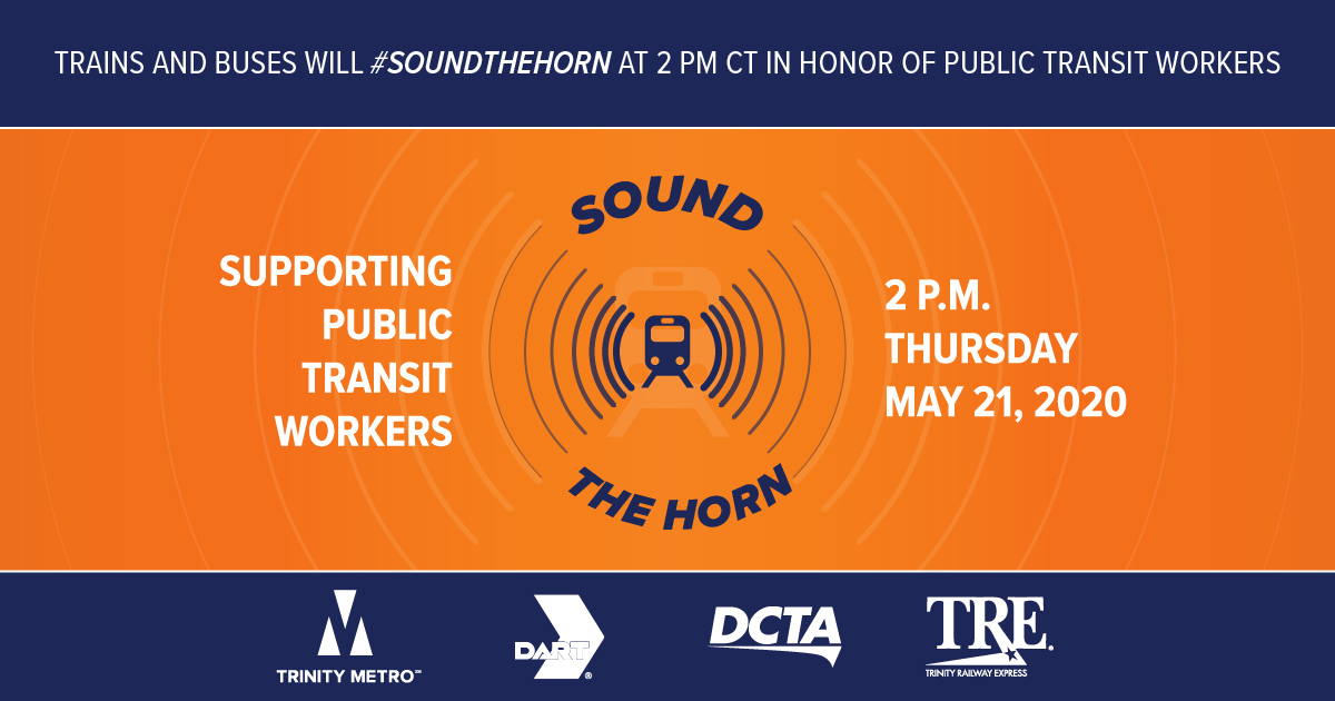 Sound the Horn May 21 DCTA