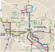 Denton Map