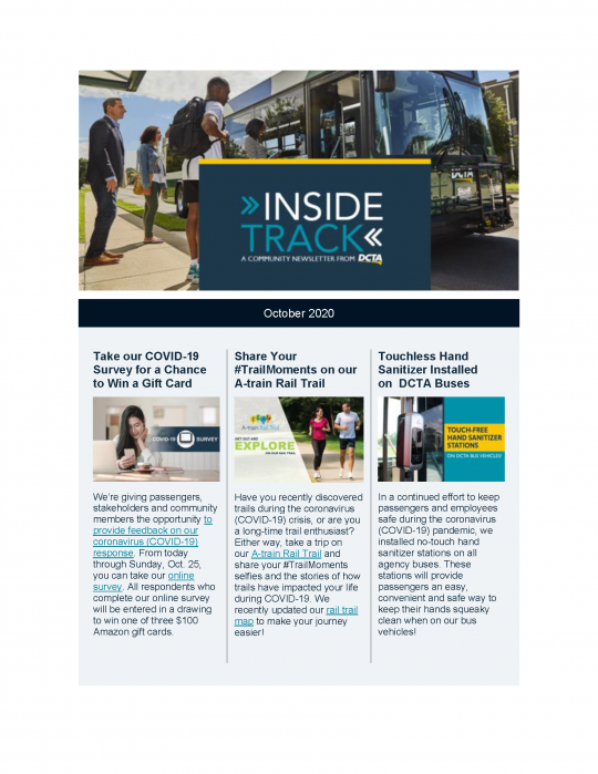 Thumbnail of Inside Track October Edition