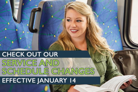 DCTA January 2019 Service Changes