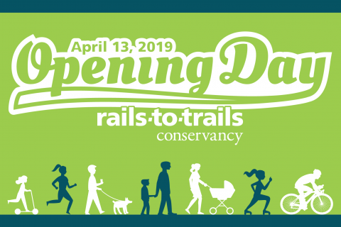 Rails to Trails Event Flyer