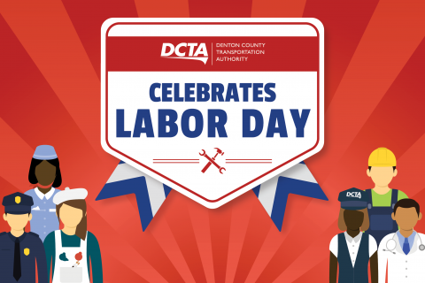 DCTA Labor Day Schedule