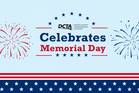 DCTA Memorial Day Graphic